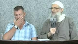 getlinkyoutube.com-رجل  يعلن أسلامه علي يد فضيلة الشيخ محمد سعيد رسلان   من جنوب أفريقيا