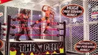 "getlinkyoutube.com-WWE ACTION INSIDER: The CELL playset TRU exclusive review Mattel ring ""grims toy show"""