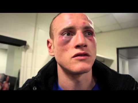 GEORGE GROVES POST FIGHT INTERVIEW / REACTION TO FROCH v GROVES (WITH KUGAN CASSIUS)