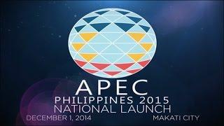 getlinkyoutube.com-APEC Philippines 2015 National Launch (Live Stream)