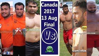 Canada Kabaddi Final 2017 | All Kabaddi Super Stars Indo Pak