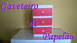 getlinkyoutube.com-Como fazer um gaveteiro de papelão!