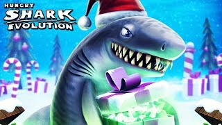 getlinkyoutube.com-Hungry Shark Evolution - New Christmas Countdown Event