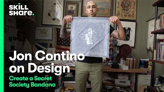 getlinkyoutube.com-Inside the Studio: Design a Secret Society Bandana with Jon Contino