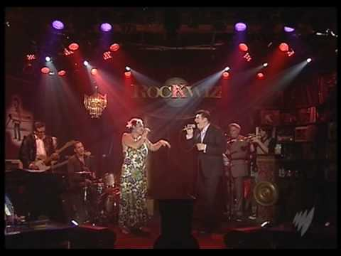 Tony Hadley and Kylie Auldist - Suspicious Minds - RocKwiz