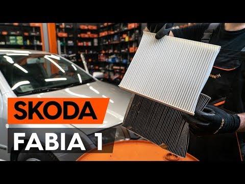 Как заменить салонный фильтр на SKODA FABIA 1 (6Y5) [ВИДЕОУРОК AUTODOC]