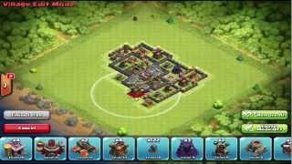 getlinkyoutube.com-تصميم تاون هول 7 تجميع وحفظ الموارد - كلاش اف كلانس - Farming Bases Town Hall 7