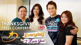 getlinkyoutube.com-FULL: 'Everyday, I Love You' Thanksgiving Press Conference | Enrique Gil | Liza Soberano
