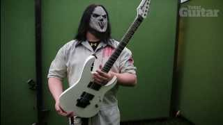 getlinkyoutube.com-Me And My Guitar: Slipknot's Mick Thomson and his Ibanez Custom Shop signature