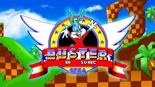 getlinkyoutube.com-Buster Bunny in Sonic the Hedgehog 1 (Sega Mega Drive/Genesis)