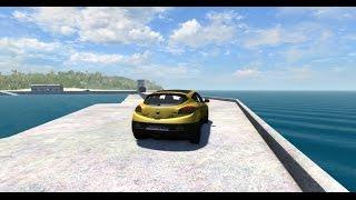 getlinkyoutube.com-Beamng.drive Crash test compilation BMW M3 Ferrari 599 Dacia Logan Skoda Octavia Audi A3 HD