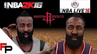 getlinkyoutube.com-NBA 2K16 vs. NBA Live 16 - Houston Rockets - Player Faces