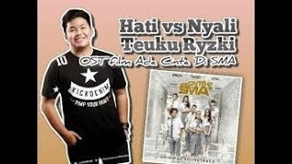 HATI VS NYALI - TEUKU RYZKI  karaoke download ( tanpa vokal ) cover