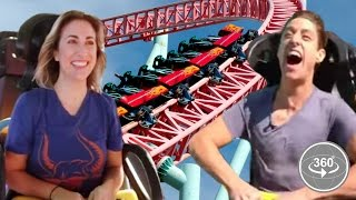getlinkyoutube.com-People Afraid Of Roller-Coasters Ride One For The First Time (360° Video)