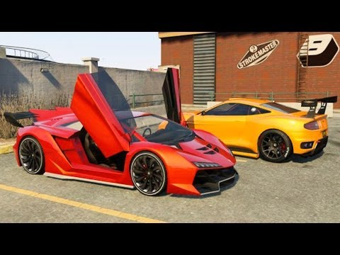 Grand Theft Auto V - The High Life Update - New Cars [GTAV]