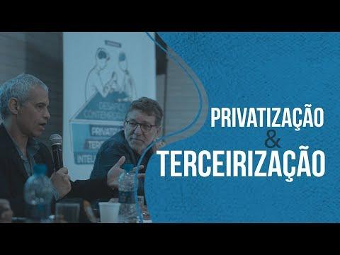 Terceirização e Privatização no Poder Judiciário e no serviço público