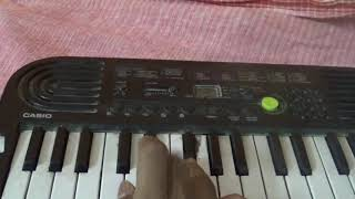 Dil Diyan Gallan song on casio