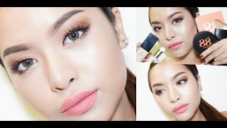Glow in Peach Makeup Tutorial (Ver88 x VVALENTINES)