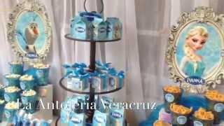 getlinkyoutube.com-Frozen Mesa de dulces La Antojeria Veracruz