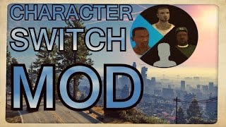GTA 5 Character Switch Mode in GTA San Andreas | Mod