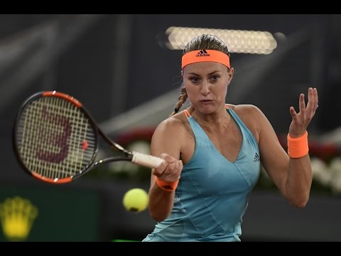 2017 Mutua Madrid Open Final | Shot of the Day | Kristina Mladenovic