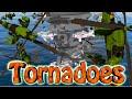 Minecraft | TORNADO VS PLANES CHALLENGE - Plane Inside Tornado! Tornadoes, Planes, Hurricanes