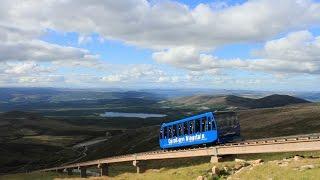 getlinkyoutube.com-CairnGorm Mountain - Funicular Railway