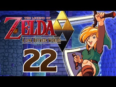 Let's Play The Legend of Zelda A Link Between Worlds Part 22: Der Sumpfpalast