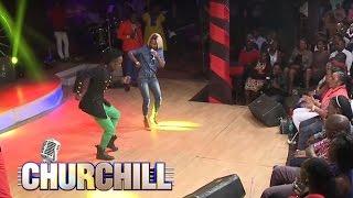 Vanesa Mdee gets a dancing partner width=