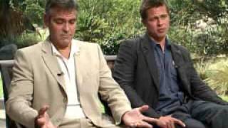 getlinkyoutube.com-Interview with George Clooney and Brad Pitt