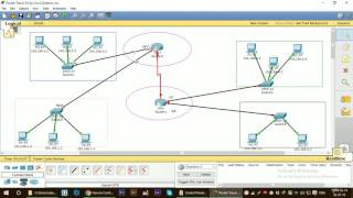 Large Network Configuration using packet tracer for beginners
