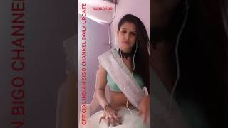 desi bigo live hot saree navel | sweety pie 2018