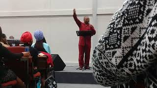 Bishop S.B Zikhali- The power of the Glory (part 1)