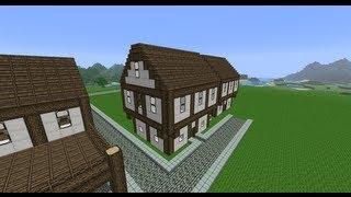 getlinkyoutube.com-[Medium] Medieval house: Project Medieval #5 - Tutorial (Danish)