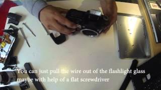 40D Shutter Button repair (also for 30d and 50d)