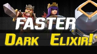 "getlinkyoutube.com-Clash of Clans:  ""Faster Way To Farm Dark Elixir?"" 