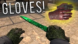 getlinkyoutube.com-CS:GO - Best New Gloves Gameplay + HUGE Glove Skin Giveaway!