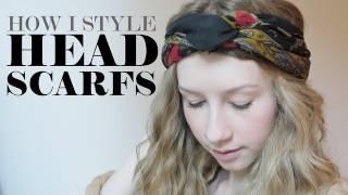 getlinkyoutube.com-How I Style Headscarfs