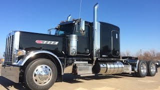 getlinkyoutube.com-2016 Peterbilt 389 Pride & Class Flat Top 550 ISX 18 speed Owner Operator