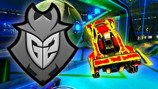 getlinkyoutube.com-A CHANCE TO PLAY VS KRONOVI & G2 ESPORTS ( Rocket League Gameplay )