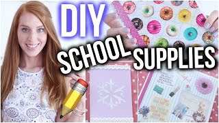 getlinkyoutube.com-DIY SCHOOL SUPPLIES IDEEN DIE DU AUSPROBIEREN SOLLTEST! | Back to school ♡ | LaurenCocoXO