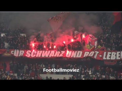 Pyro + Choreo Fortuna vs. Leverkusen | Leverkusen Pyro in Dsseldorf | Fortuna vs. Bayer 1:4