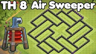 getlinkyoutube.com-Clash of Clans Town Hall 8 FARMING Base With AIR SWEEPER Best TH8 Farming Base Defense Strategy