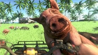 getlinkyoutube.com-Far Cry 3 Bacon Island 1000 Pigs ! PiggyFest
