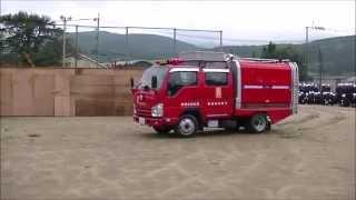 getlinkyoutube.com-西原村消防団  ポンプ積載車(警戒走行)