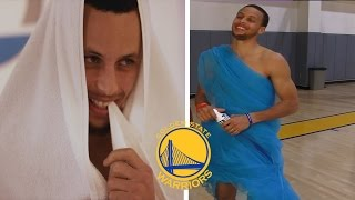 getlinkyoutube.com-NEW FUNNY Golden State Warriors MOMENTS Ft. Stephen Curry, Kevin Durant PART 2