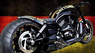 "getlinkyoutube.com-Harley Davidson Night Rod ""Daytona 300"" by 69CUSTOMS  | Motorcycle Muscle Custom"