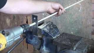 Vástagos para flechas | fabricación casera