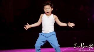 getlinkyoutube.com-Gangnam Style Kid Psy by EyeYou