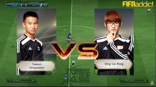 getlinkyoutube.com-Asian Cup 2015 - Day 2 - คู่สี่ : MiTHTDKeane vs Ding Cai Rong